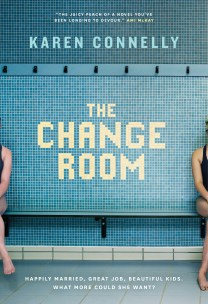 The Change Room by Karen Connelly; design by Jennifer Griffiths (Random House Canada / April 2017)