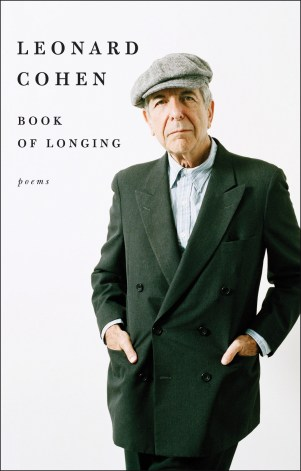 Book of Longing by Leonard Cohen; design by Allison Saltzman (Ecco / October 2017)