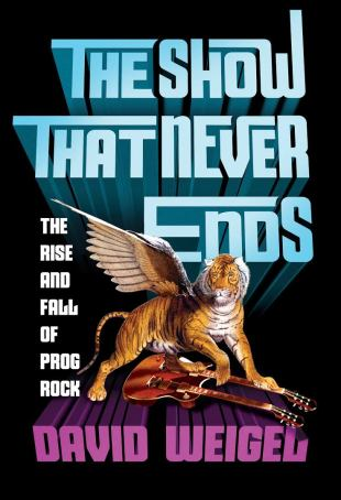 The Show That Never Ends by Dave Weigel; design by Tal Goretsky (W. W. Norton)