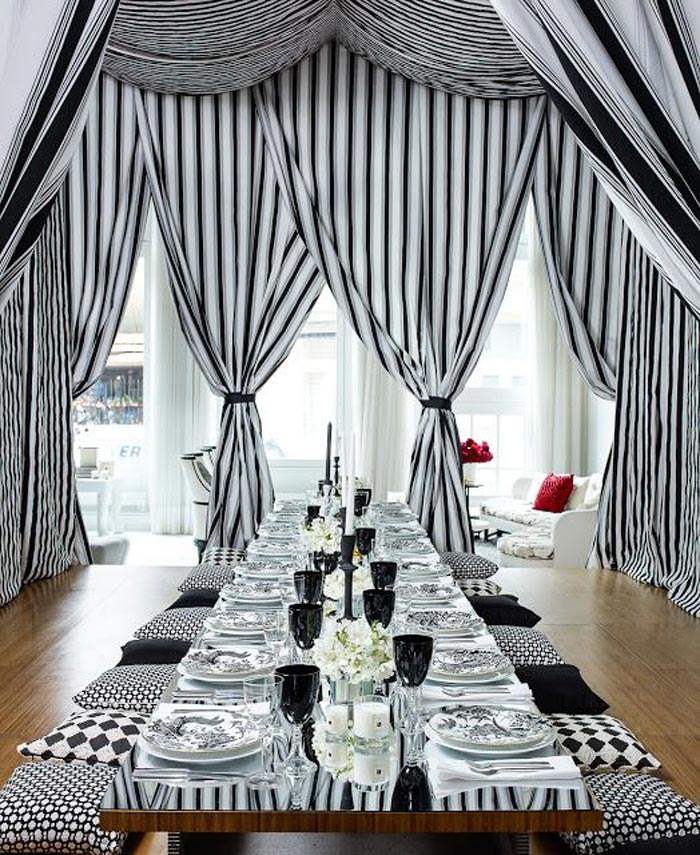 Amazing-Luxury-Black-and-White-Thanksgiving-Decoration-Ideas