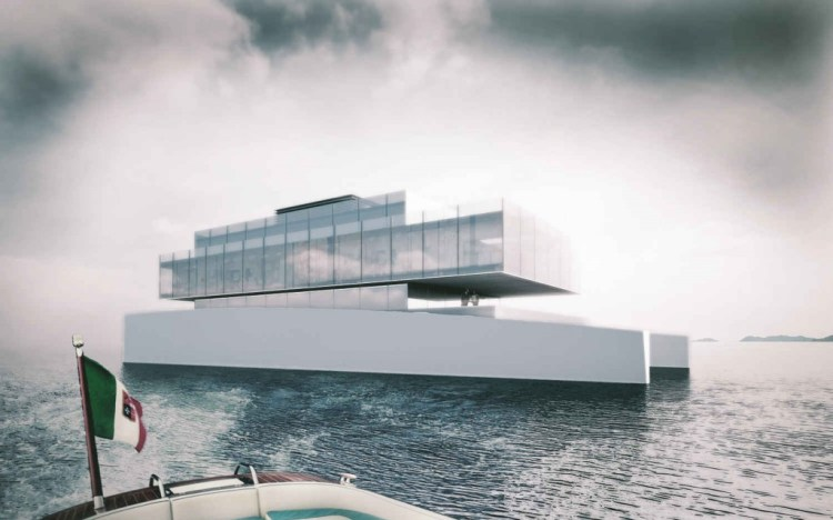 Glass Yacht Exterior