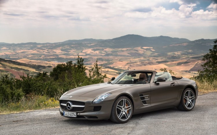 Mercedes Benz SLS Roadster