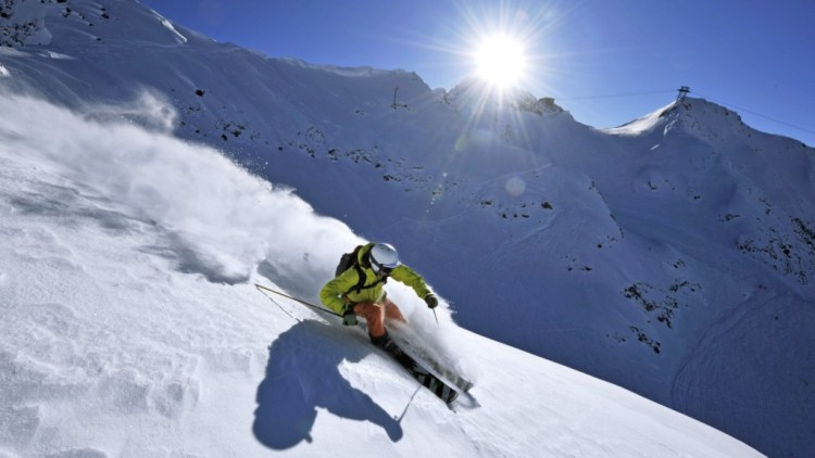Andermatt Swiss Alps Skiing