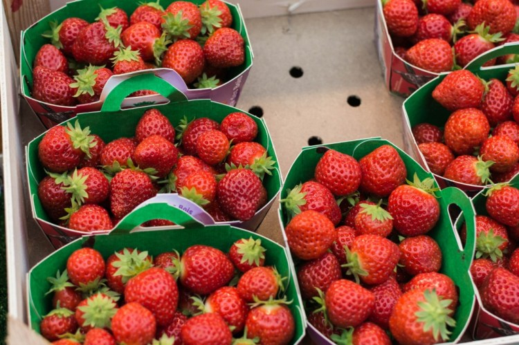 Strawberries in the 7th arrondissement