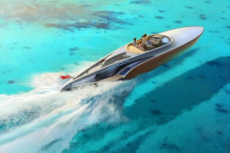 Top-view-Aeroboat-Rendering