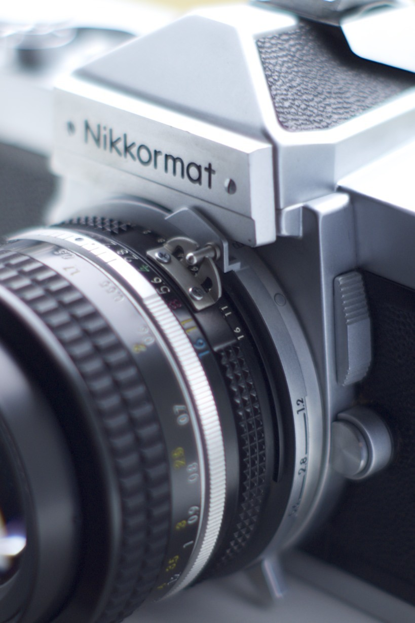Nikkormat Rabbit Ear