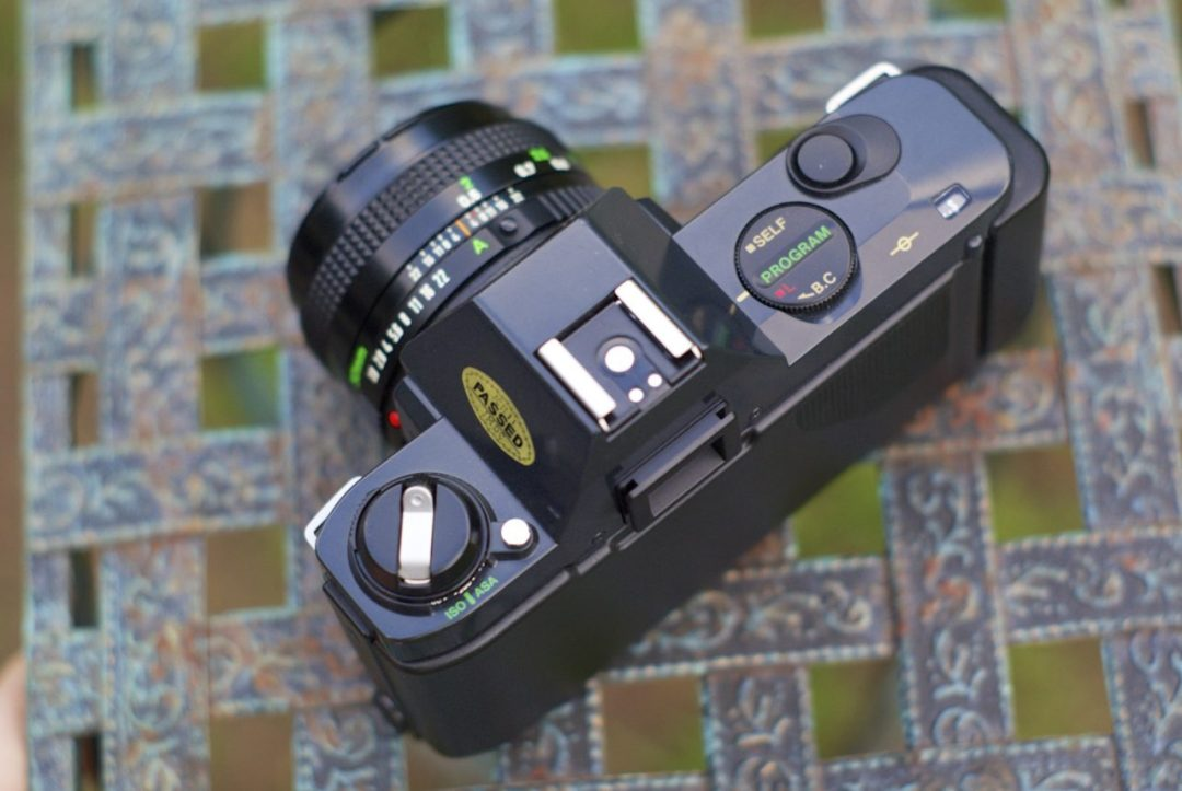 Canon T50 Top