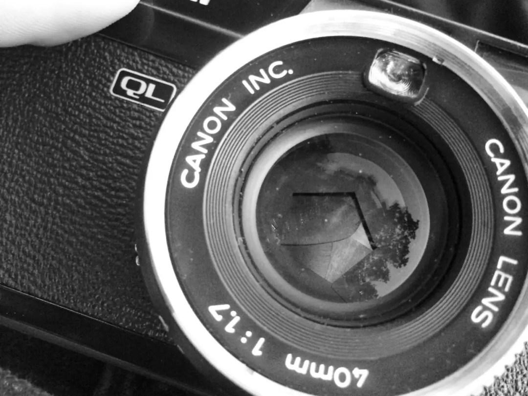 Canonet Rangefinder Shutter