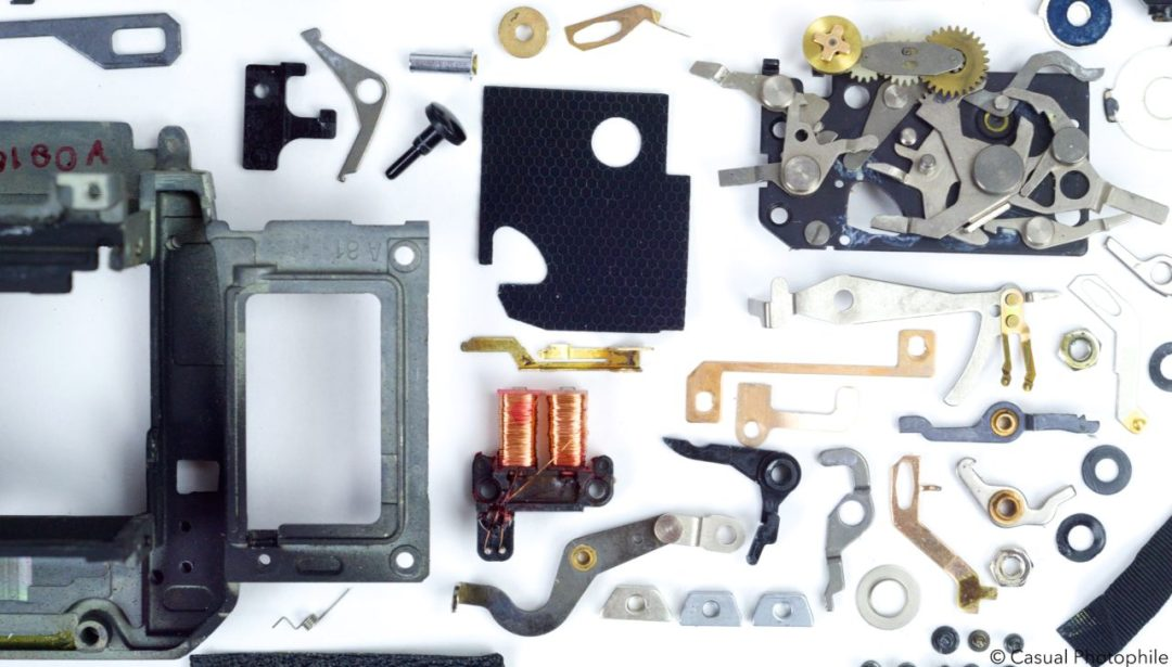 Canon AE 1 Exploded View 4