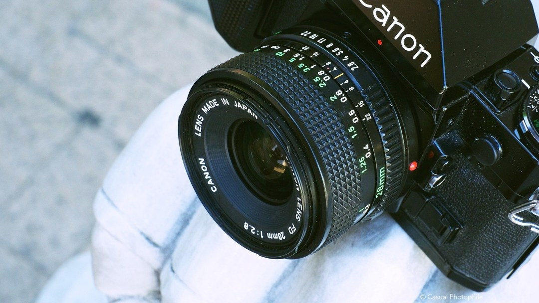 Canon FD 28mm 2.8 review 7