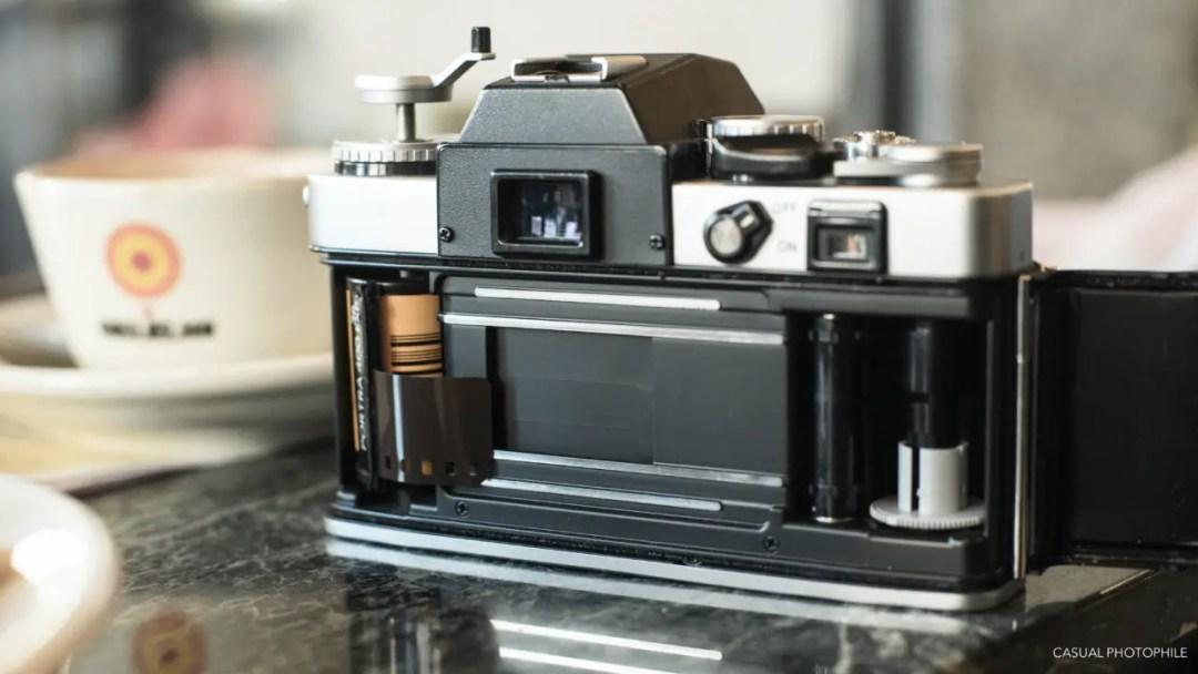 Minolta XE-5 Camera Review (3 of 16)