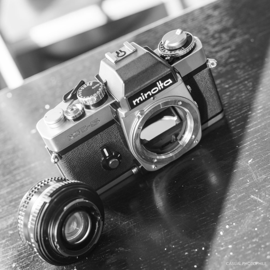Minolta XE-5 Camera Review (8 of 16)