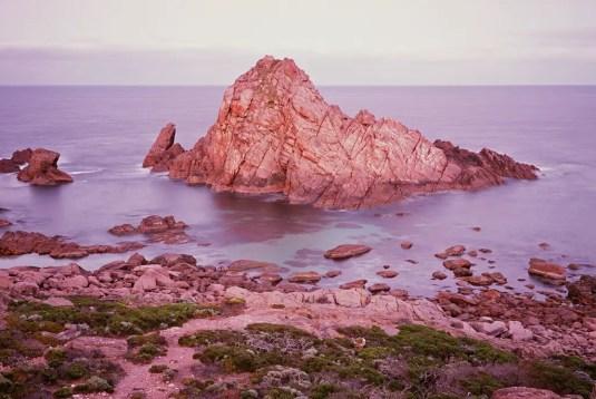 Image 7 - GB - Sugarloaf Rock - Fuji GW690III, Fujifilm Velvia 100
