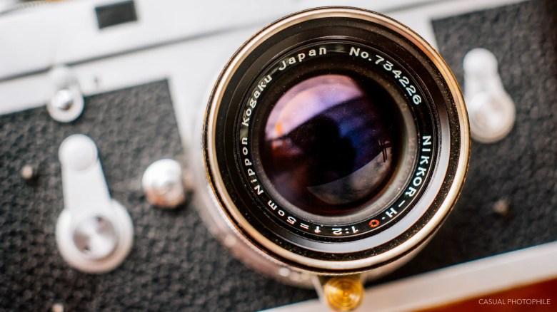 Nikkor 50mm f-2 LTM product photos-3