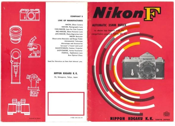 Nikon F catalog