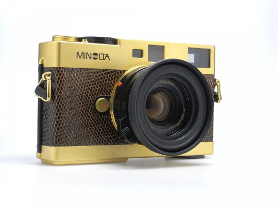 minolta cle in gold