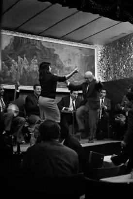 TURKEY. 1969. A customer dancing in a musical saloon in Beyoglu. Ara Güler / Magnum Photos