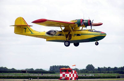 On approach to land at Waddington, June 2004 Photo: Steve Hall