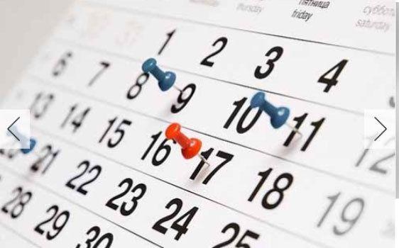 Calendario Internacional de Certificaciones