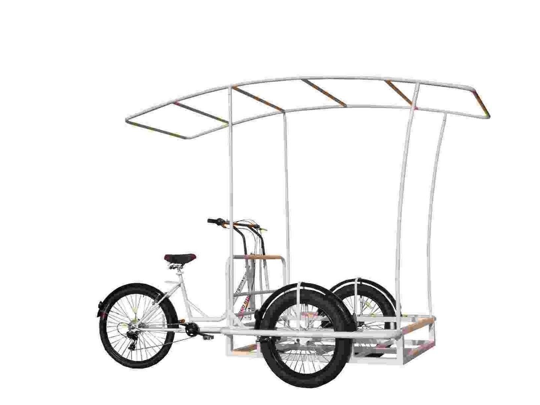 Roma Triciclo Cargo Bike Bici Da Carico Base Per Allestimenti