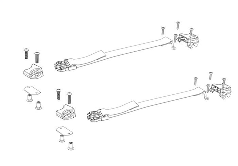 Bak Industries Parts 356a Bakflip Buckle Kit