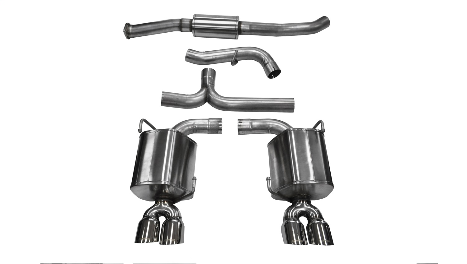 Corsa Performance Sport Cat Back Exhaust System Fits