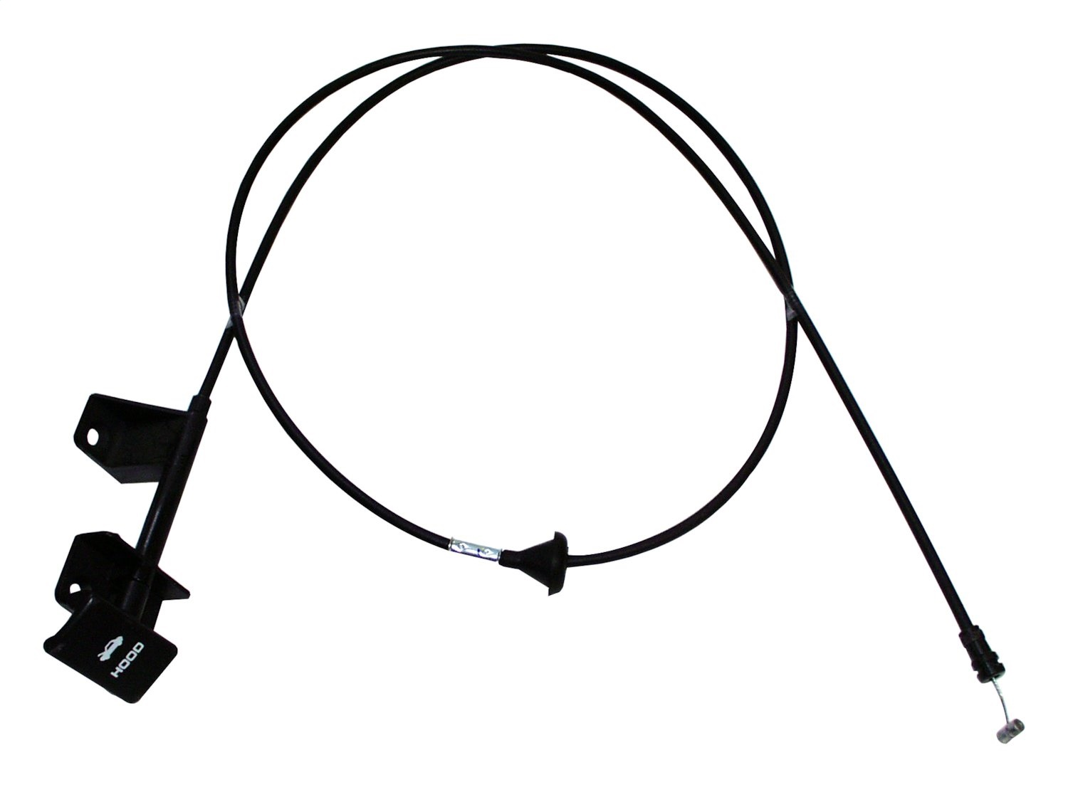 Crown Automotive Hood Release Cable Fits 87 96