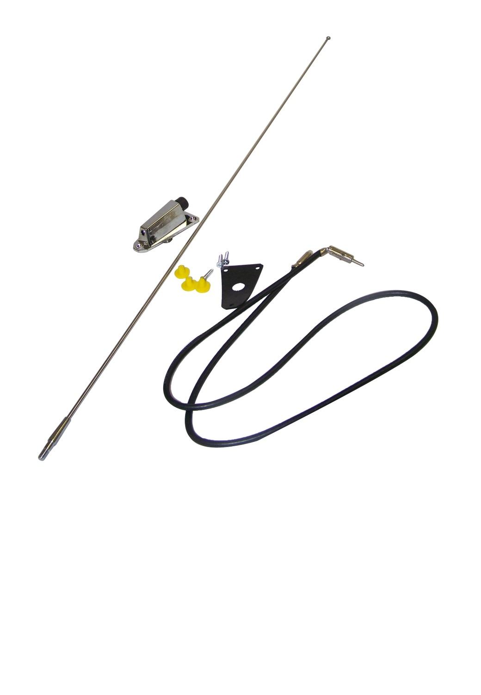 New Crown Automotive Antenna Kit 75 95 Cj5 Cj6 Cj7