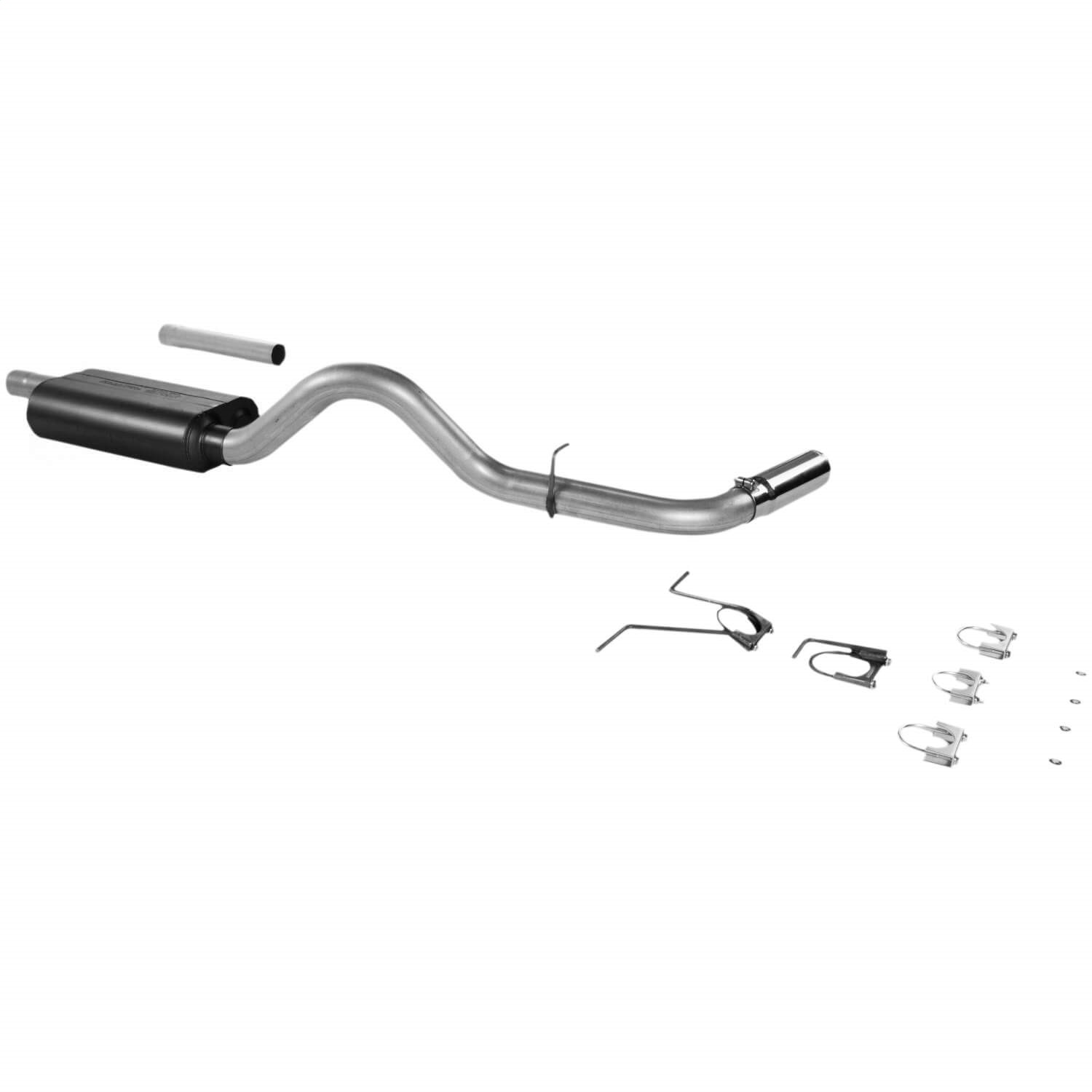 Flowmaster Force Ii Cat Back System Fits 00 03 Dakota
