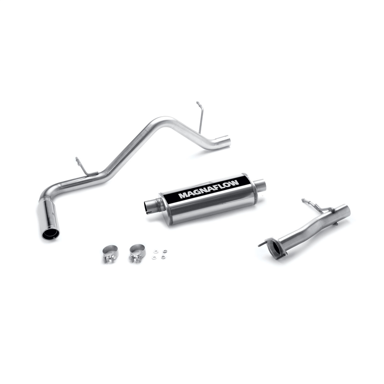 04 12 Chevrolet Colorado Magnaflow 3 Cat Back Exhaust