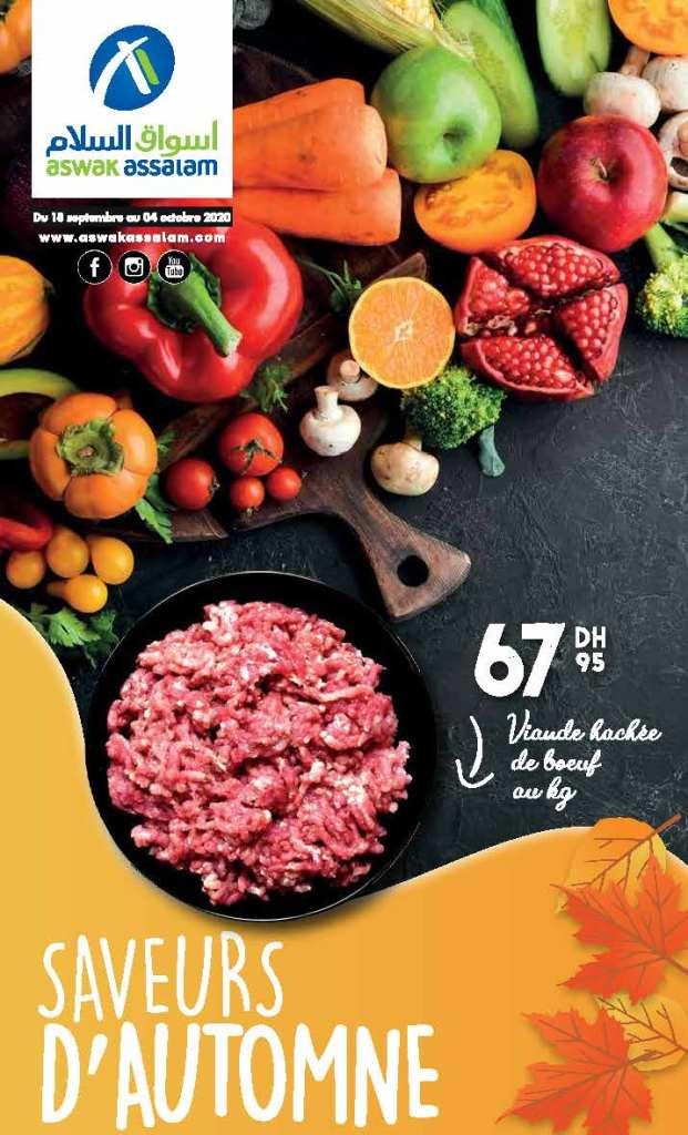 Catalogue Aswak Assalam automne 2020