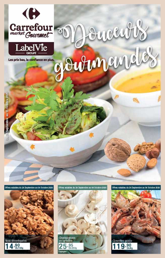 Catalogue carrefour gourmet octobre 2020