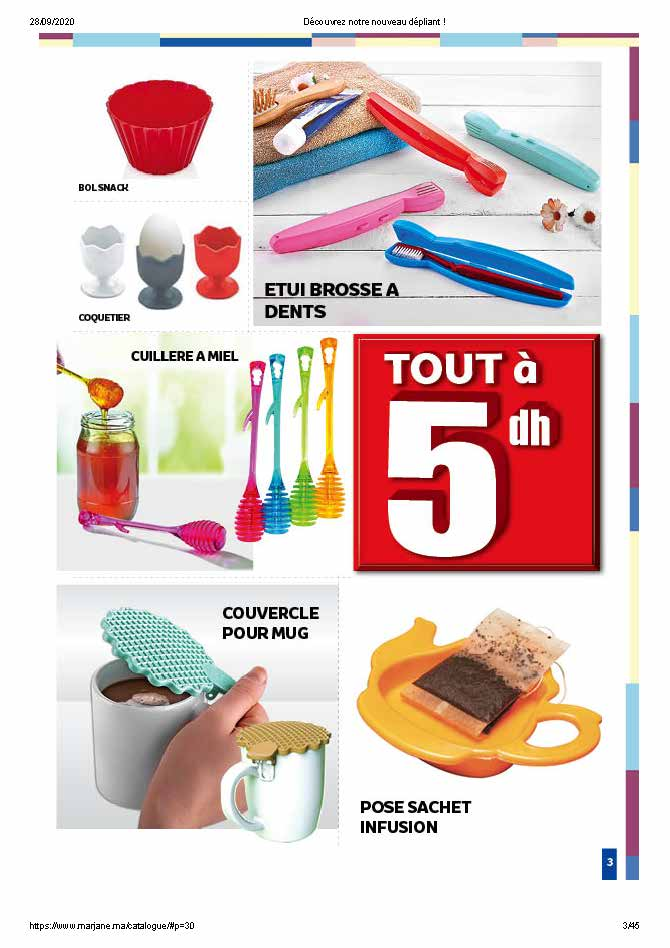 Catalogue Marjane petits prix 2