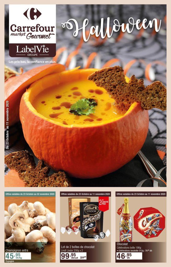 Catalogue Carrefour market gourmet spécial halloween 2020