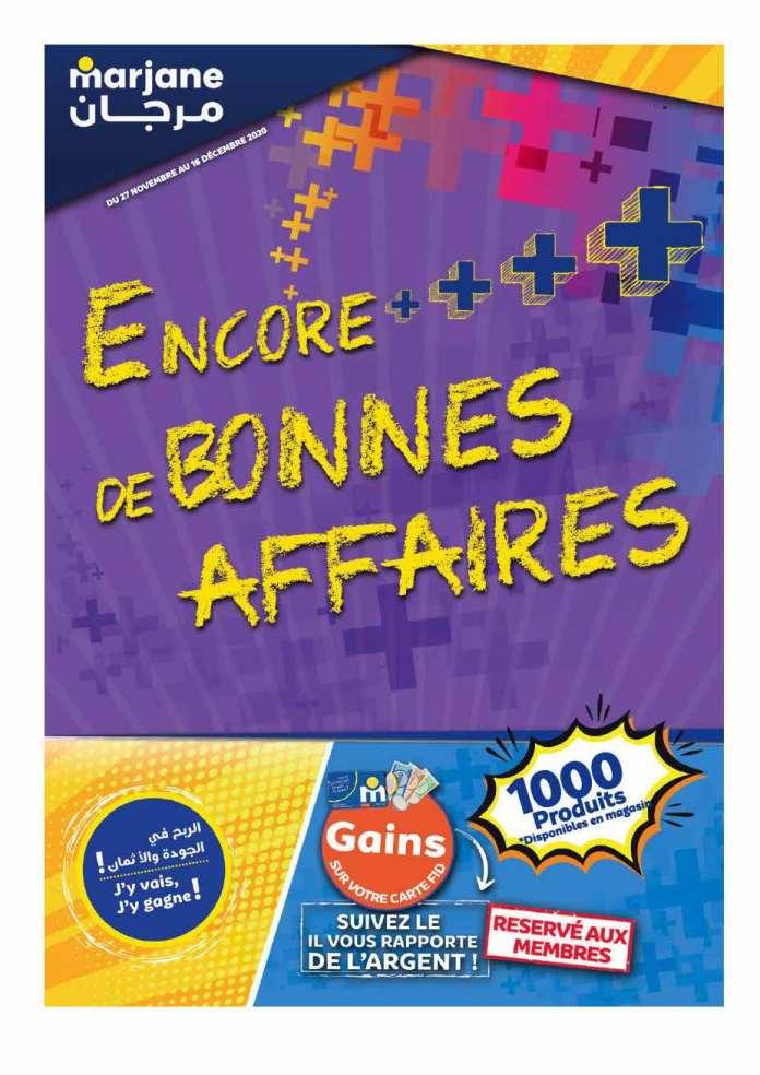 Catalogue Marjane décembre 2020