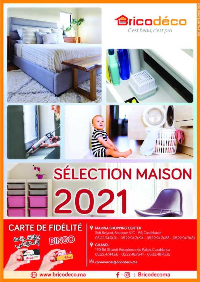 Dépliant BRICODECO sélection Maison 2021