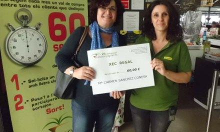 Resultado del Sorteo de Mayo de un Cheque regalo de 60€