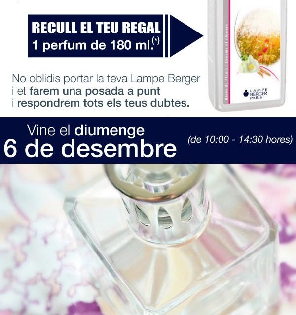 Jornada Lampe Berger – Ven y recoge tu perfume.