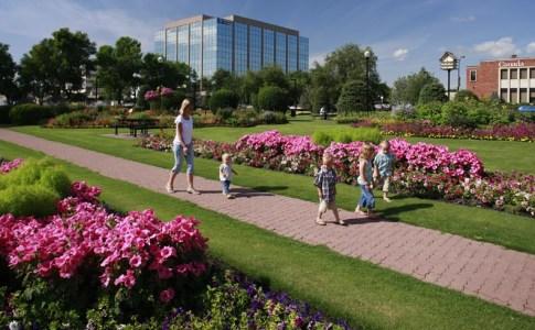 Red Deer City Hall Park