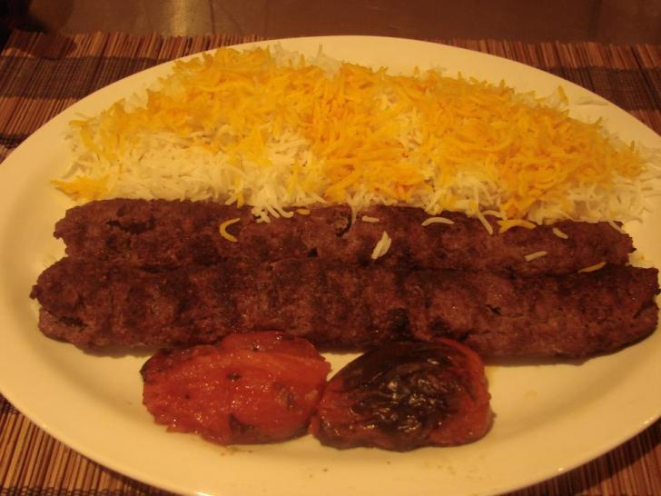 Pars Koobideh with Basmati rice