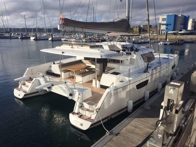 Catamarans For Sale Fountaine Pajot Saba 50 Fountaine Pajot Saba 50 Fountaine Pajot Multihulls World