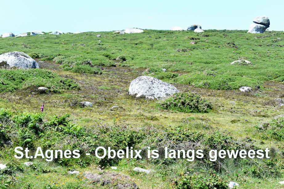 St.Agnes - Obelix is langs geweest