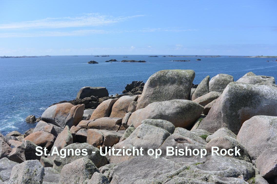 St.Agnes - Uitzicht op Bishop Rock