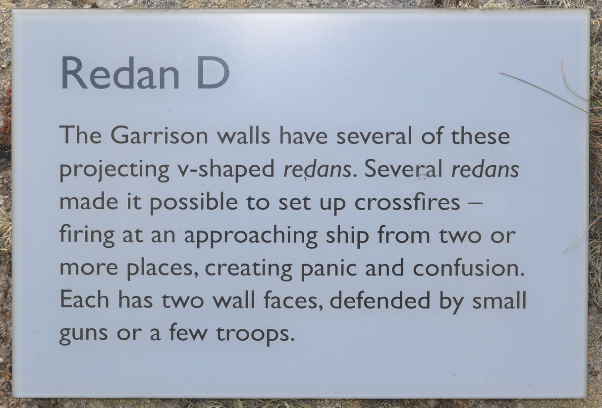 St.Mary's - Garrison walls1
