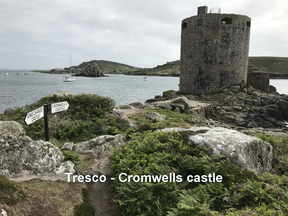 Tresco - Cromwells castle1