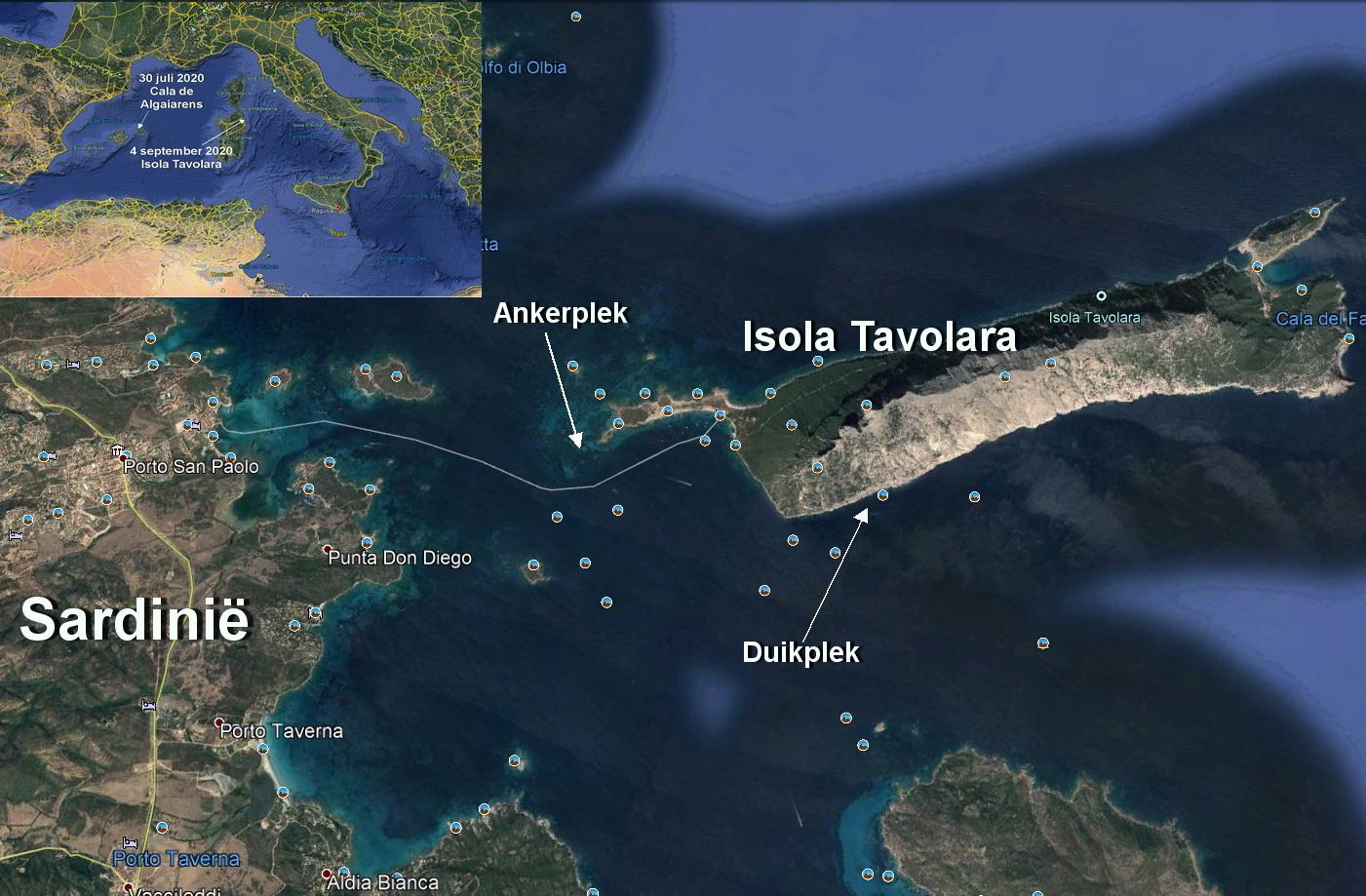 Duik-2 Isola Tavolara