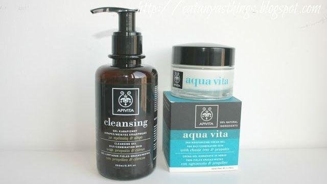 Apivita Cleansing Gel & Aqua Vita