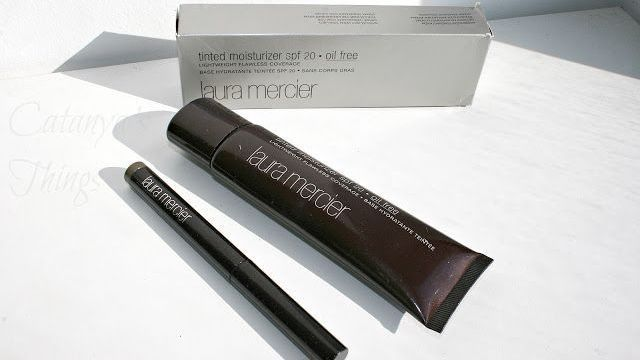 Laura Mercier Tinted Moisturizer & Caviar Stick Eye Colours