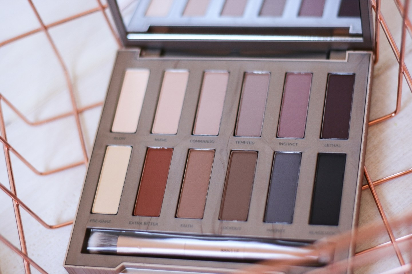 naked ultimate basics urban decay swatches