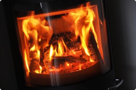 Brændeovnen